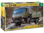 3692 Zvezda 1/35 Russian two-axle truck K-4350