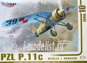481002 Mirage Hobby 1/48 PZL P.11c with bombs
