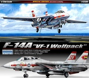 12504 Academy 1/72 F-14A [VF-1 Wolfpack]