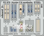 FE970 Edward 1/48 Hunter F. 6 steel belts