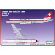 144145-5 Восточный экспресс 1/144 Авиалайнер CV990 SWISSAIR