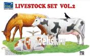 RV35015 Riich.Models 1/35 Livestock Set Vol.2 (Домашние животные, 2 часть)