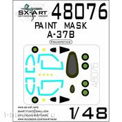 48076 SX-Art 1/48 Окрасочная маска A-37B Dragonfly (Trumpeter)