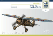 70016 ArmaHobby 1/72 Самолет  PZL P.11c Junior Set