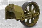 35009 Fury Models 1/35 Набор дополнений ленивец с шиной, поздний тип  для легкого танка США M3A1 / M3A3