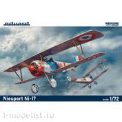 7404 Eduard 1/72 Nieuport Ni-17 Aircraft