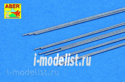 SR 04 Aber Steel  round rods fi 0,4mm length 250mm x12 pcs.