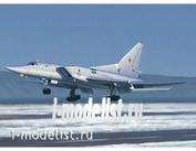 01656 Trumpeter 1/72 Самолет Т-у-22М3 Backfire C Strategic bomber