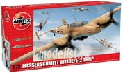 3081 Airfix 1/72 Messerschmitt Bf110E/E-2 Tropical