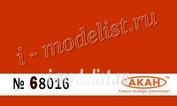 68016 Акан Оранжевая стандартная полуглянцевая