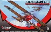 481306 Mirage Hobby 1/48 HALBERSTADT CL II early version