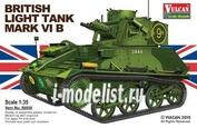 56008 Vulcan 1/35 British Light Tank MK.VI B