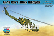 87225 HobbyBoss 1/72 AH-1S Cobra Attack Helicopter