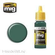AMIG0018 Ammo Mig acrylic Paint WAFFEN SS-POLIZEI GRÜN
