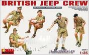 35051 MiniArt 1/35 Британский экипаж джипа