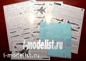 72034 Begemot 1/72 Декаль на МиК- 29 СМТ