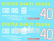 48001 ColibriDecals 1/48 Decal for A. I. Pokryshkin - planes of the Expert.