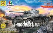 307225 Modeler 1/72 German tank T-IIIJ