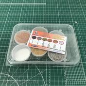 22-835 I-MODELER Set for dioramas No. 3 AUTUMN (soil 2 types + greens-parolon, flock + snow)