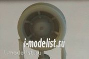 ZA35266 Zebrano 1/35 Набор обрезиненных поддерживающих катков танков КВ (с круглой крышкой)