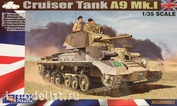 35GM0003 Gecko Models 1/35 Cruiser Tank Mk. I, A9 Mk. 1