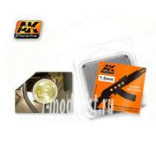 AK-205 AK Interactive Линзы прозрачные желтые AMBER 1,5mm