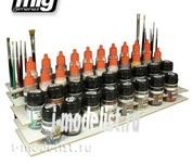 AMIG8001 Ammo Mig WORKBENCH ORGANIZER (Подставка под краски)