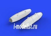 672116 Eduard 1/72 Набор дополнений Бомбы Mk.77