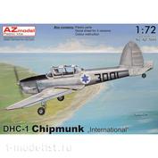 "AZ7649 AZModel 1/72 Самолет DHC-1 Chipmunk ""International"""