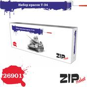 26901 ZIPmaket Набор красок Т-34