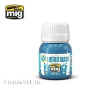 AMIG2032 Ammo Mig Жидкая маска синего цвета