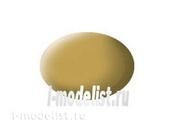 36116 Revell Aqua - sand-colored paint, matte