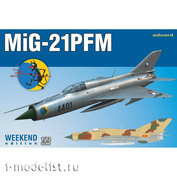 7454 Eduard 1/72 Fighter M&G-21PFM
