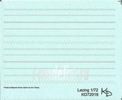 72020 KV Decol 1/72  Lacing (темно-серая)