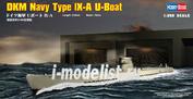 83506 Hobby Boss 1/350 DKM Navy Type lX-A U-Boat