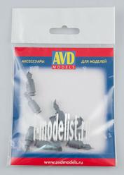 AVD143010010 AVD Models 1/43 Acetylene generator, 10 PCs.