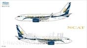 737-004 Ascensio 1/144 Декаль на самолет боенг 737-700 (SCAT)