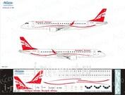 190-004 Ascensio 1/144 Декаль на самолет Embraer 190 (Georgian Airways)