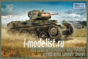 72035 IBG models 1/72 Stridsvagn m/40 K Swedish light tank