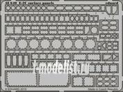 48640 Eduard 1/48 Фототравление E-2C surface panels    KIN