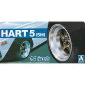 05436 Aoshima 1/24 Hart (5H) 14 Inch