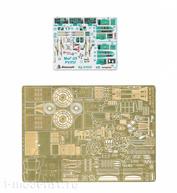 072033 Микродизайн 1/72 Набор фототравления цветные приборные доски для MiGG-25 РУ/ПУ (ICM)