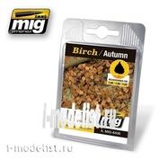 AMIG8406 Ammo Mig BIRCH – AUTUMN (Супер реалистичные листья березы.)