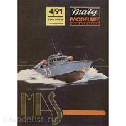 MM 4/1991 Maly Modelarz Бумажная модель