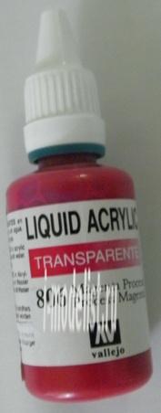 32 806 Vallejo Liquid 806 Маджента