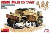 35067 MiniArt 1/35 Dingo Mk1b British reconnaissance vehicle with crew