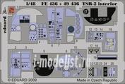 FE436 Eduard 1/48 Цветное фототравление для TSR-2 interior S. A.