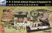 AB3567 Bronco 1/35 W.W.II British Airbrone Weapon & Equipment Set