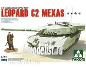 2003 Takom 1/35 Canadian MBT Leopard C2 MEXAS