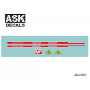 ASK35004 All Scale Kits (ASK) 1/35 Decal for U@Z-469/31512 Military police (Syria)
